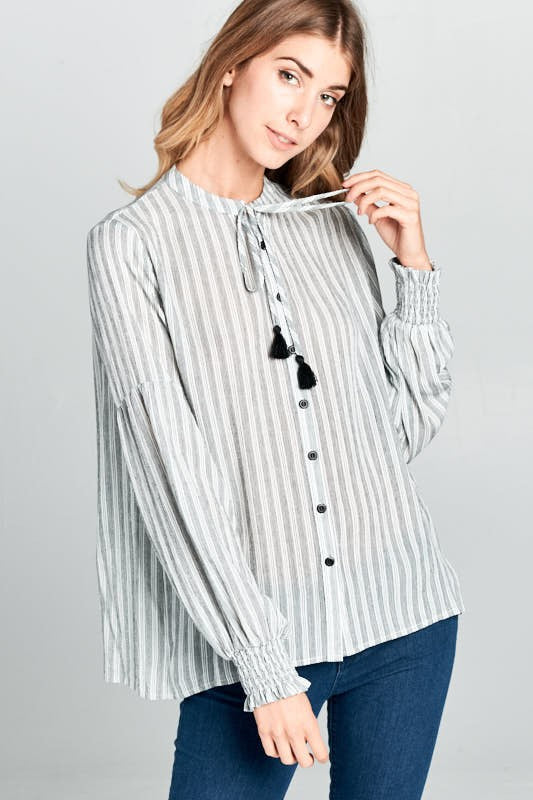 The Hannah Blouse - Beau&Arrow