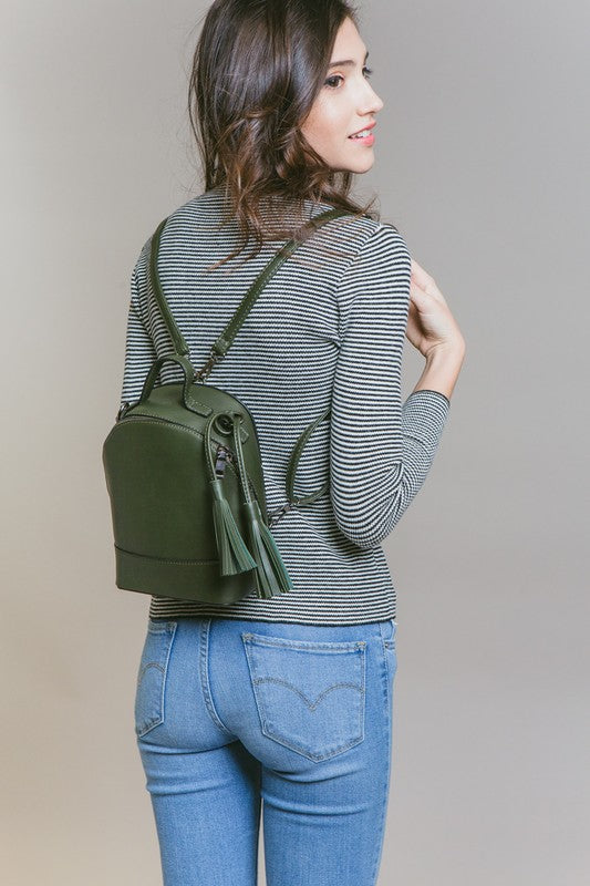 Merci Mini Backpack Purse - Beau&Arrow