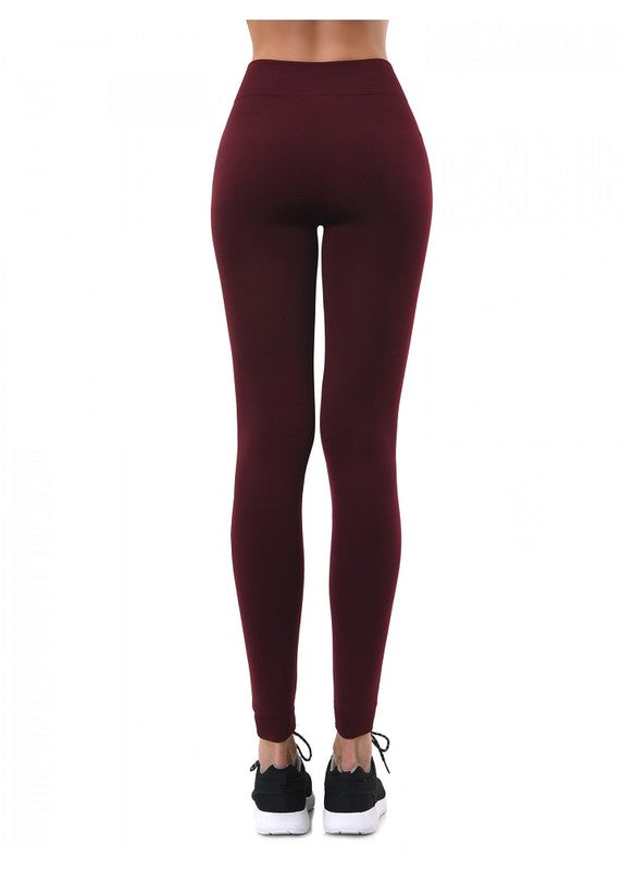 Fur Lined Leggings - Beau&Arrow
