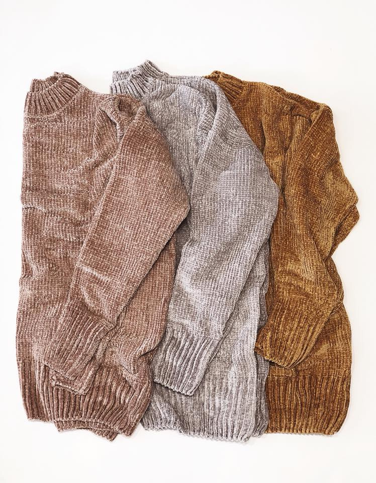 Chenille Blanket Sweater - Beau&Arrow
