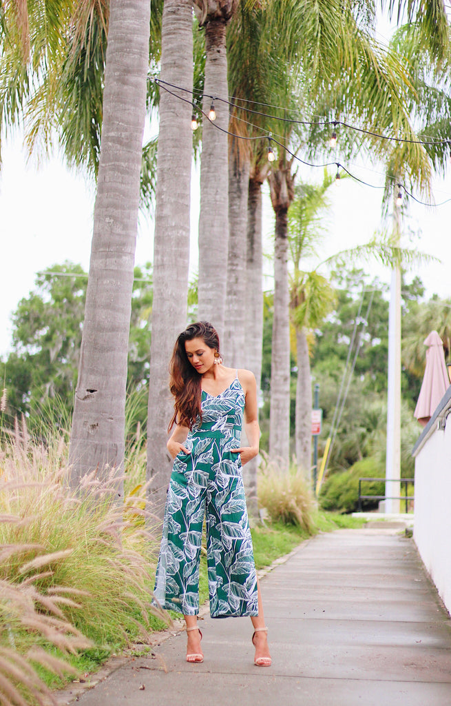 The Kyla Jumpsuit - Beau&Arrow