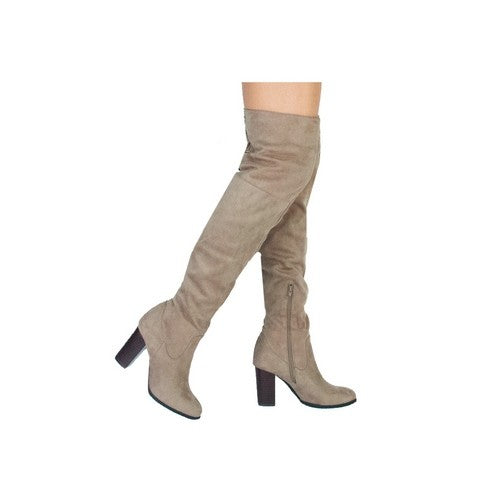 Knee High Boots - Beau&Arrow