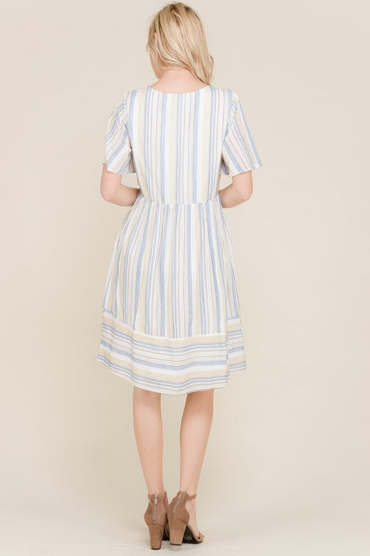 The Kimberly Dress - Beau&Arrow