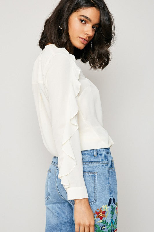 The Hadlee Blouse - Beau&Arrow