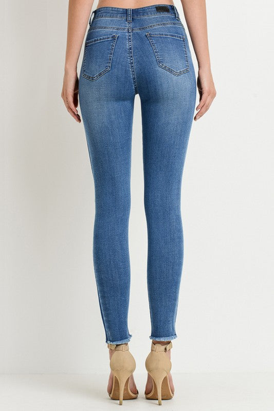 The Evangeline High-Rise Denim - Beau&Arrow