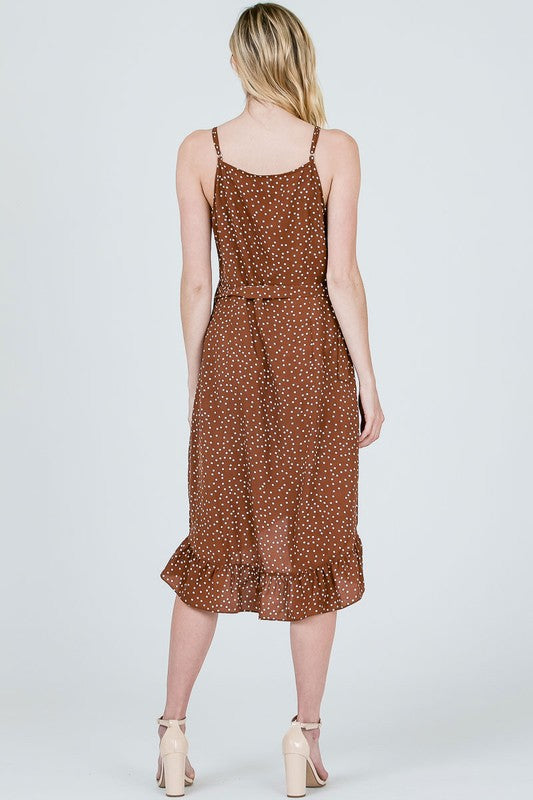 The Brittany Polka Dot Dress - Beau&Arrow