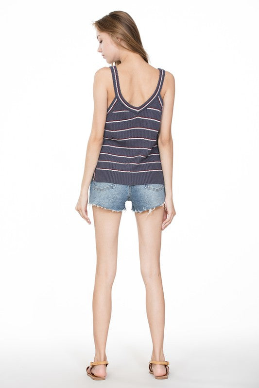 The Layla Sweater Tank - Beau&Arrow