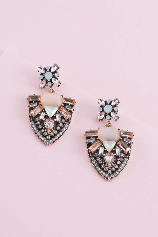 Romance Aglow Earrings - Beau&Arrow