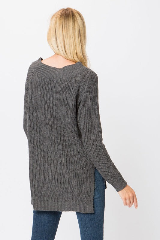 The Elizabeth Sweater - Beau&Arrow