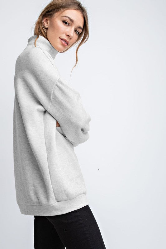 The Elise Oversized Tunic - Beau&Arrow