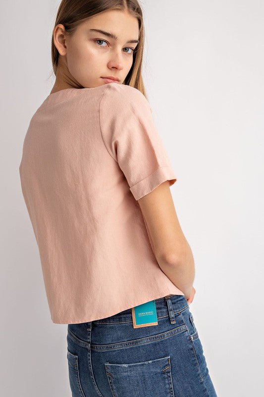 The Chloe Top - Beau&Arrow
