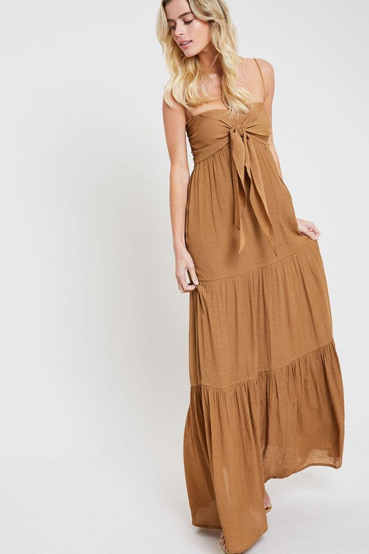 The Hazel Maxi Dress - Beau&Arrow