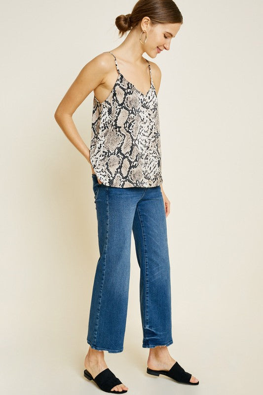 The Rumi Snakeskin Blouse
