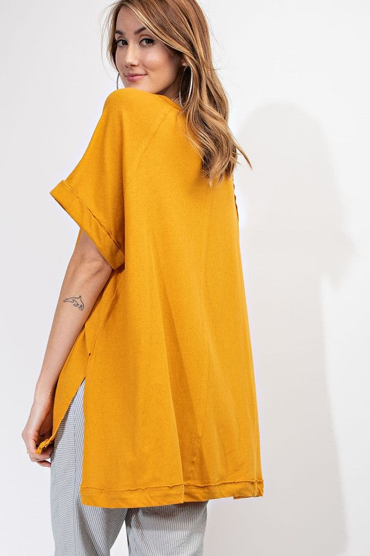The Jane Oversized Tee - Beau&Arrow