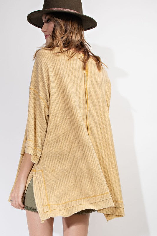 The Mia Mustard Tunic