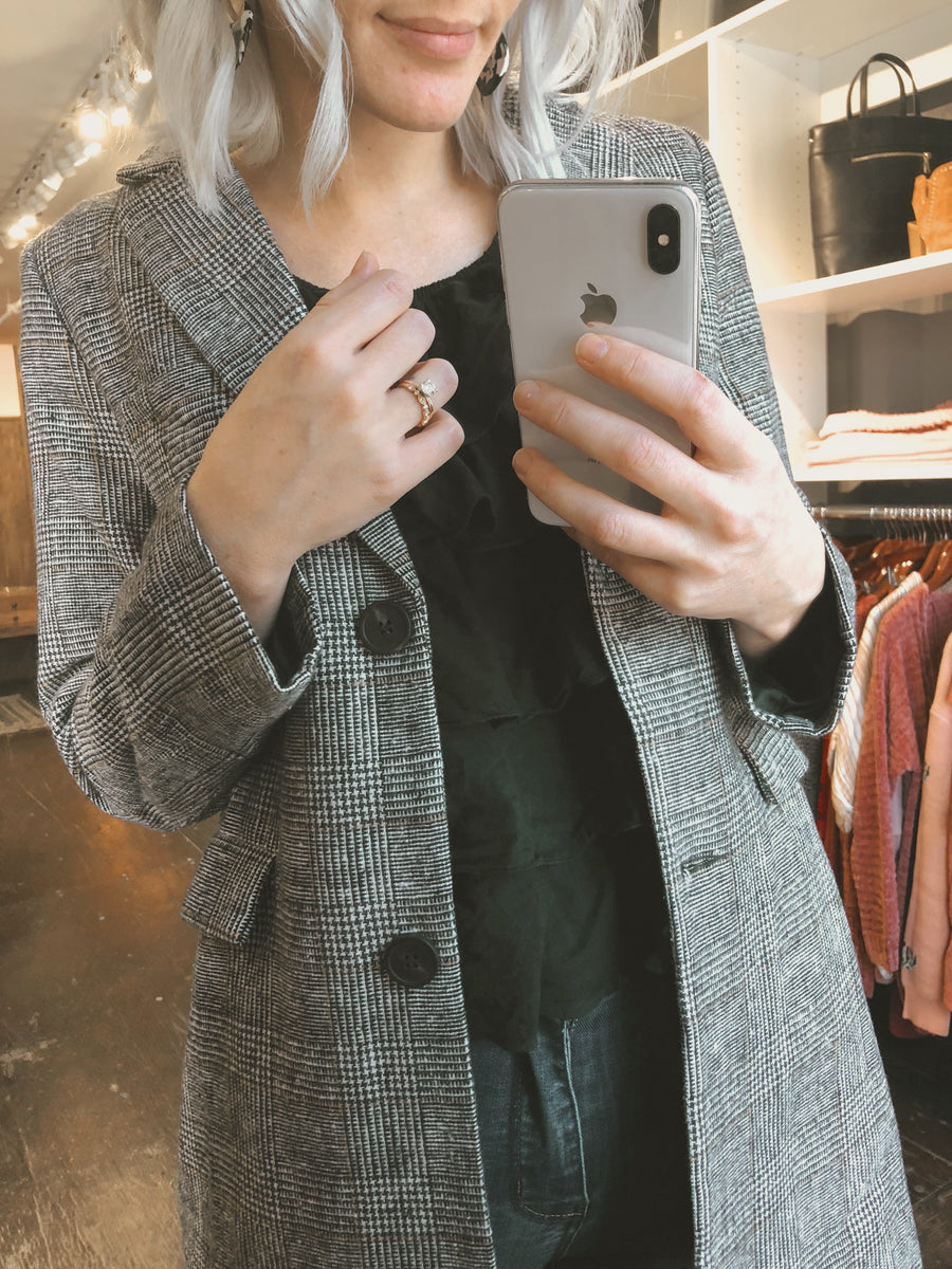 The Twila Tweed Blazer