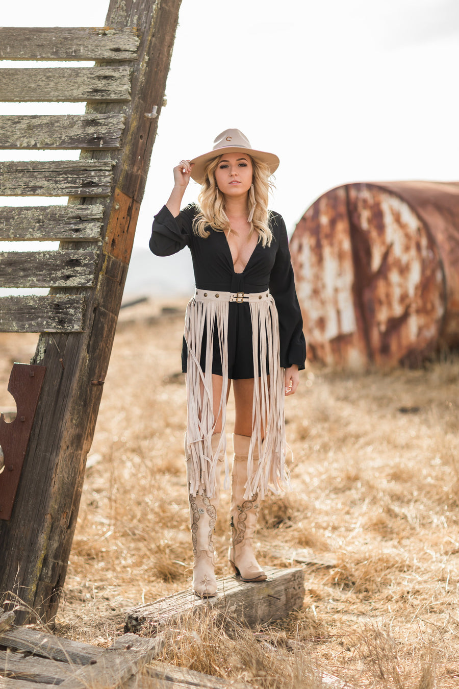 The Keelee Romper - Beau&Arrow