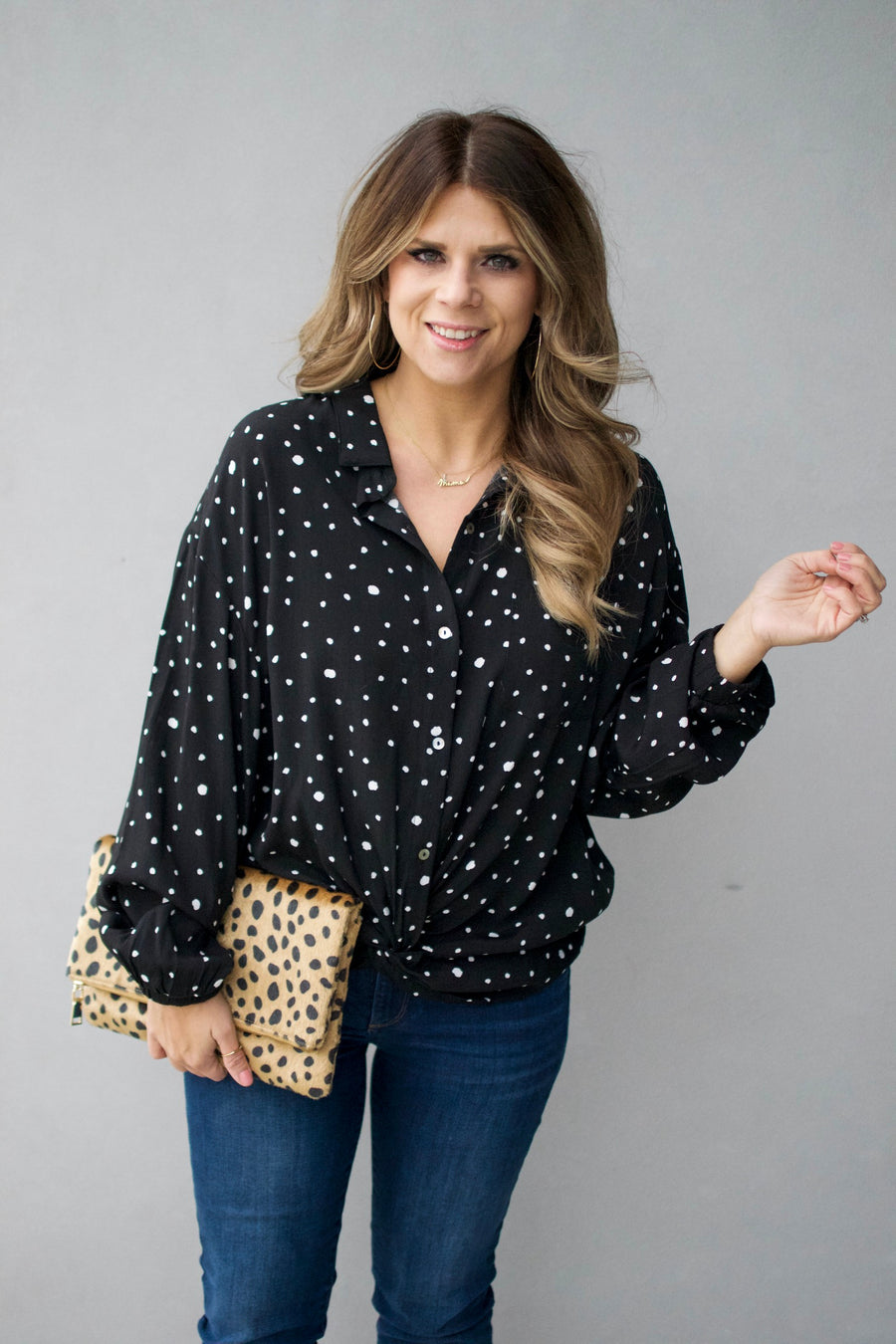 The Zoe Blouse