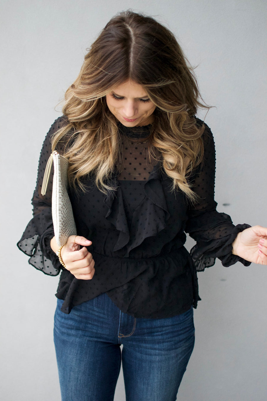 The Hunter Blouse
