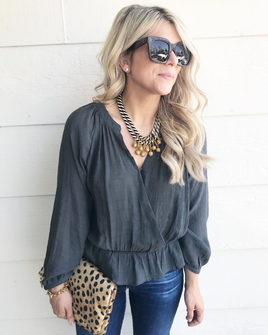 The Betsy Blouse - Beau&Arrow