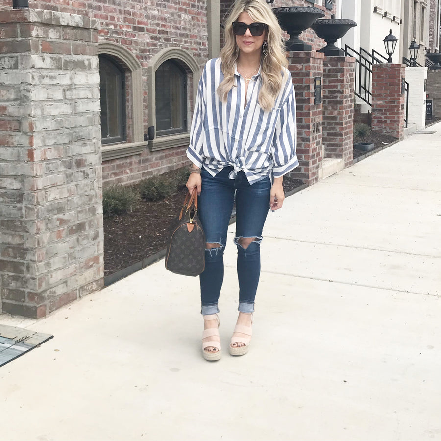 The Emily Blouse - Beau&Arrow