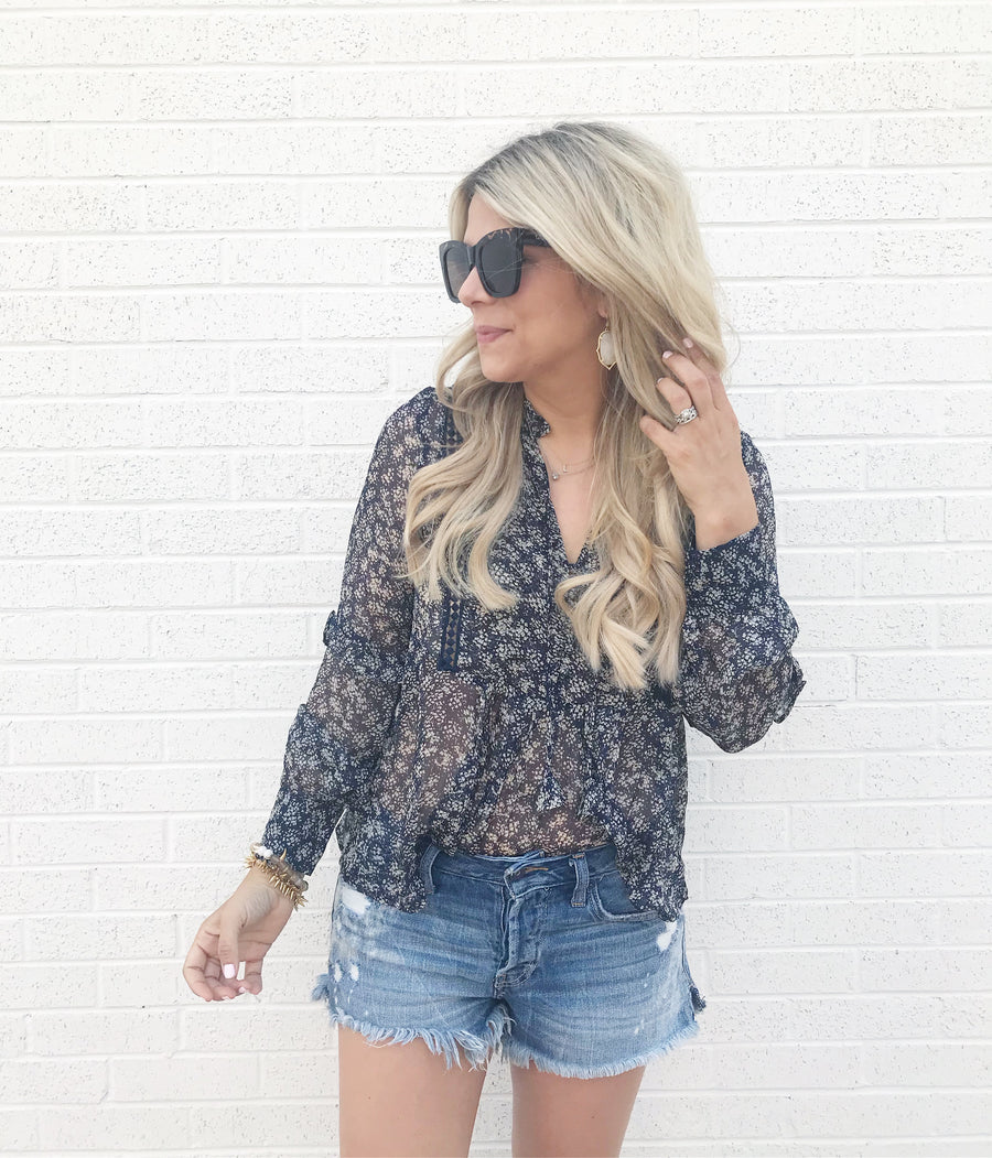 The Willa Blouse