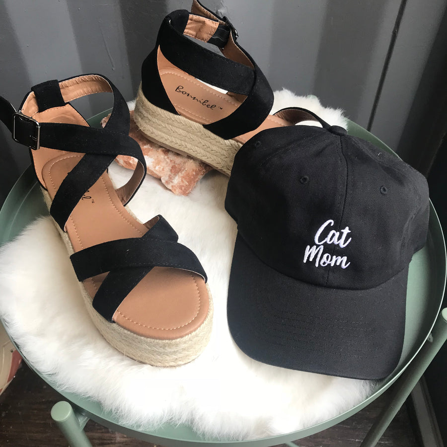 Cat Mom Ballcap - Beau&Arrow