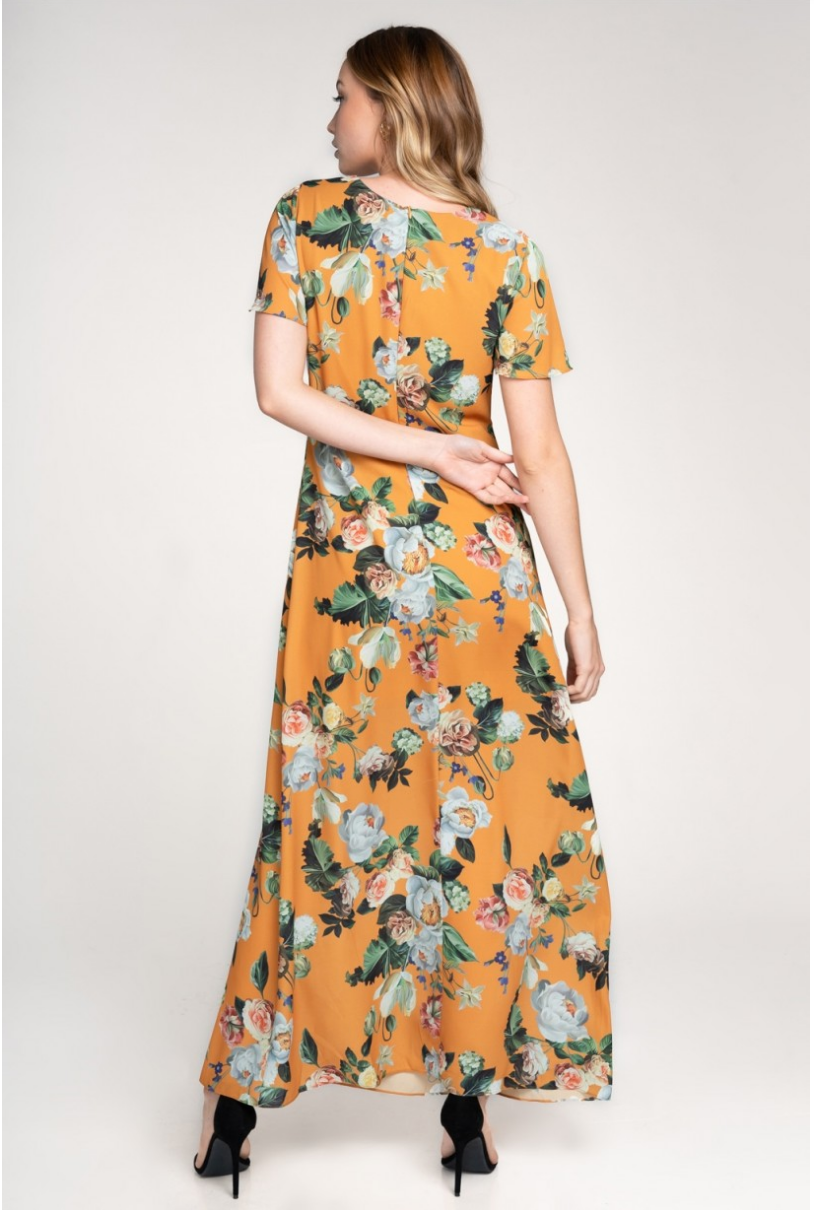 The Maddie Floral Maxi