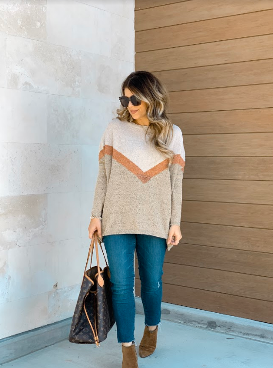 The Cassidy Sweater - Beau&Arrow