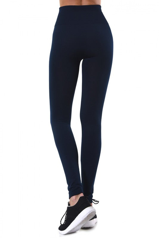 Fleece Lined Slimming Leggings - Beau&Arrow