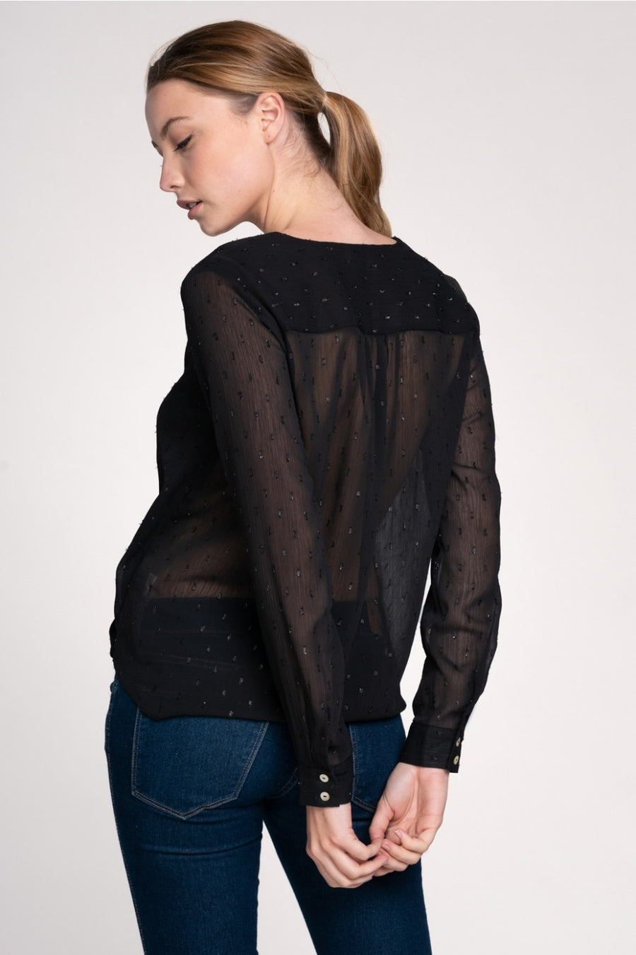 The Jessica Blouse - Beau&Arrow