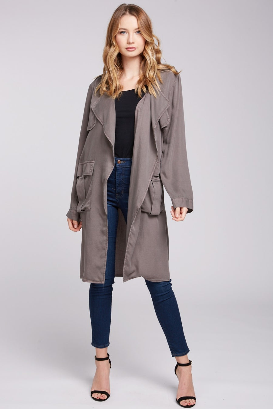 Detective Brown Trench Coat - Beau&Arrow
