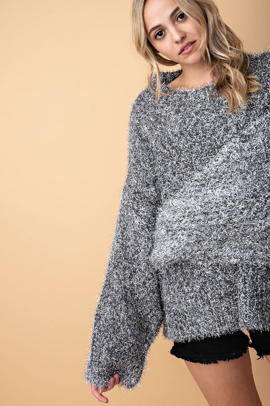 The Carissa Sweater - Beau&Arrow