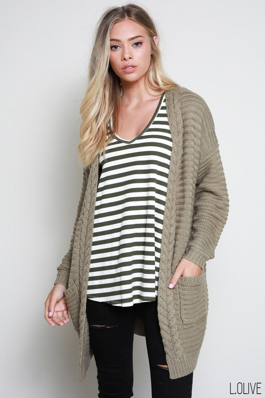 The Lydia Wool Cardigan