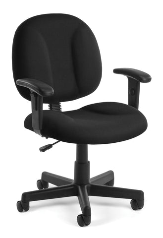 SUPERCHAIR WITH ARMS - BLACK