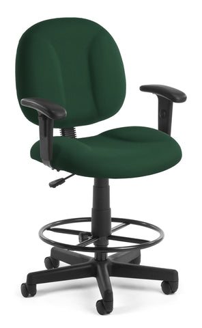 SUPERCHAIR WITH ARMS AND DK - GREEN
