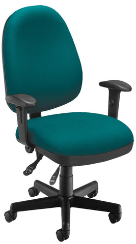 6 FUNCTION EXEC/TASK CHAIR - 802-TEAL