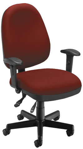 6 FUNCTION EXEC/TASK CHAIR - 803-WINE