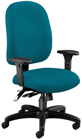 SUPER TASK COMPUTER CHAIR - TEAL