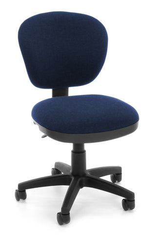 COMPUTER CHAIR-119 BLUE