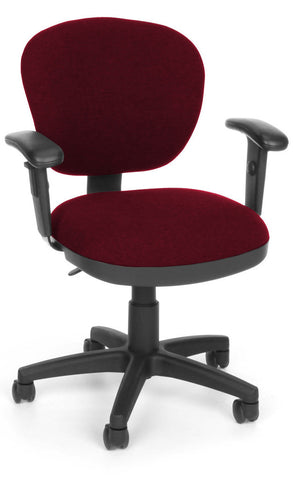 COMPUTER CHAIR W/ARMS - 122 BURG
