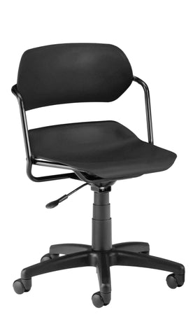 Plastic Swivel Task Chairs