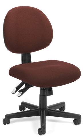 24/7 COMPUTER TASK CHAIR-201-BURGUNDY