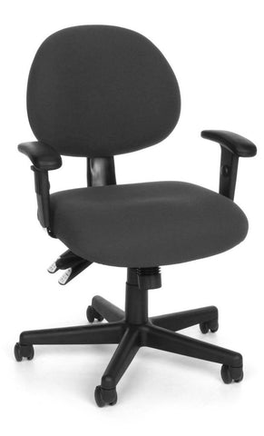24/7 COMPUTER TASK CHAIR W/ARMS-203-CHAR