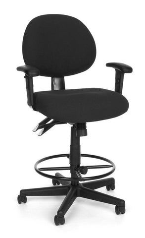 24/7 COMP TASK CHAIR W/ARMS+DK -203-CHAR