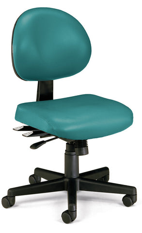 24/7 TASK CHAIR IN TEAL VINYL AM