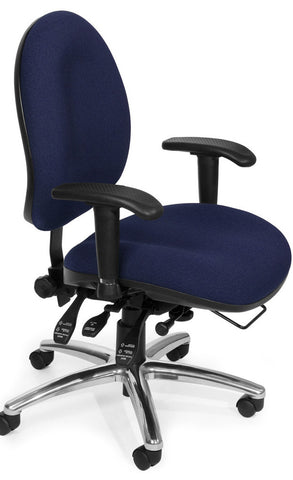 24/7 CHAIR - 202-BLUE