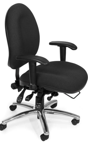 24/7 CHAIR - 206-BLACK