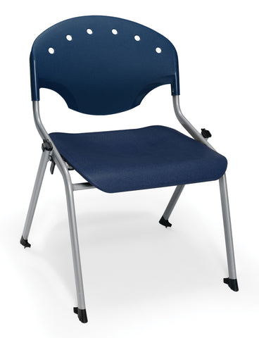 STUDENT CHAIR 46 - SILVER/BLUE