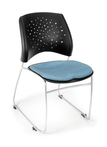 Star Stack Chair - Cornflower Blue